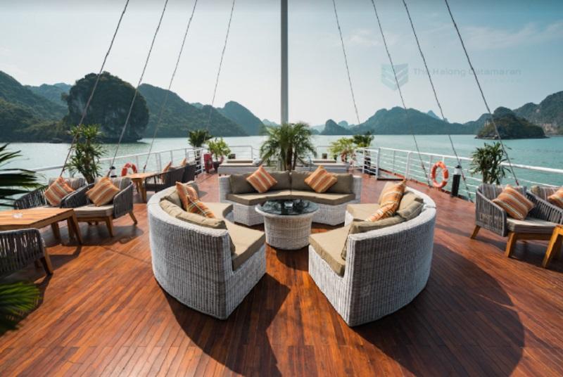 Du thuyền Catamaran Hạ Long Hạ Lan 1 ngày